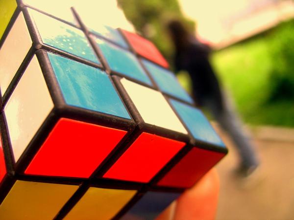 Rubik by lostinmist