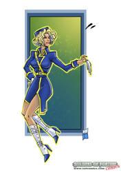 The diplomat - comic style
