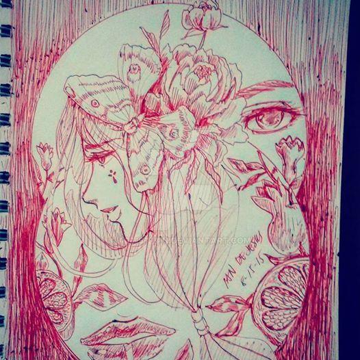 Random Doodle Collage by Artist-ian