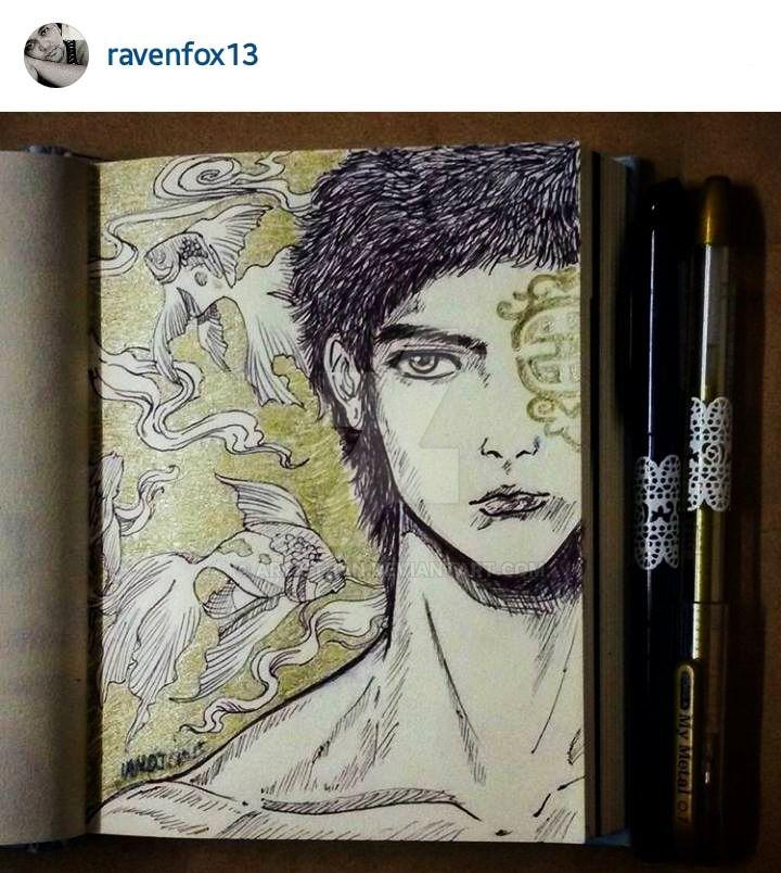 ian's #inktober 103015 by Artist-ian