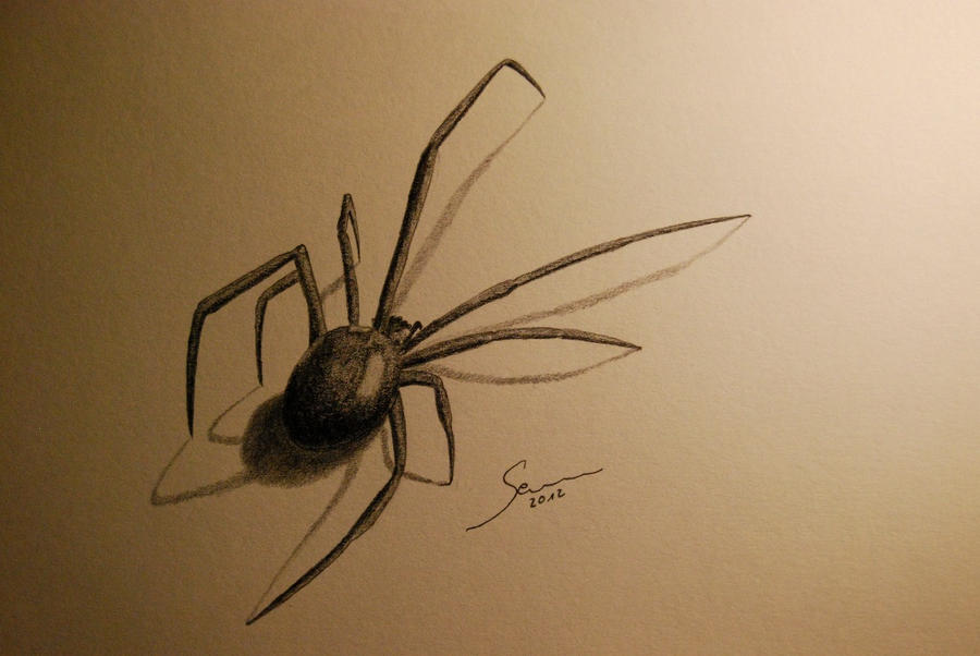 Black Widow by glypheus