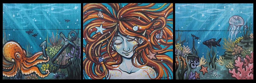 Mermaid box by Flos-Abysmi