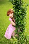 Katelyn in the Vines