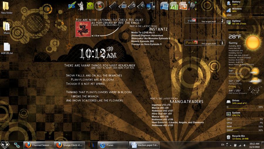 Grunge Desktop