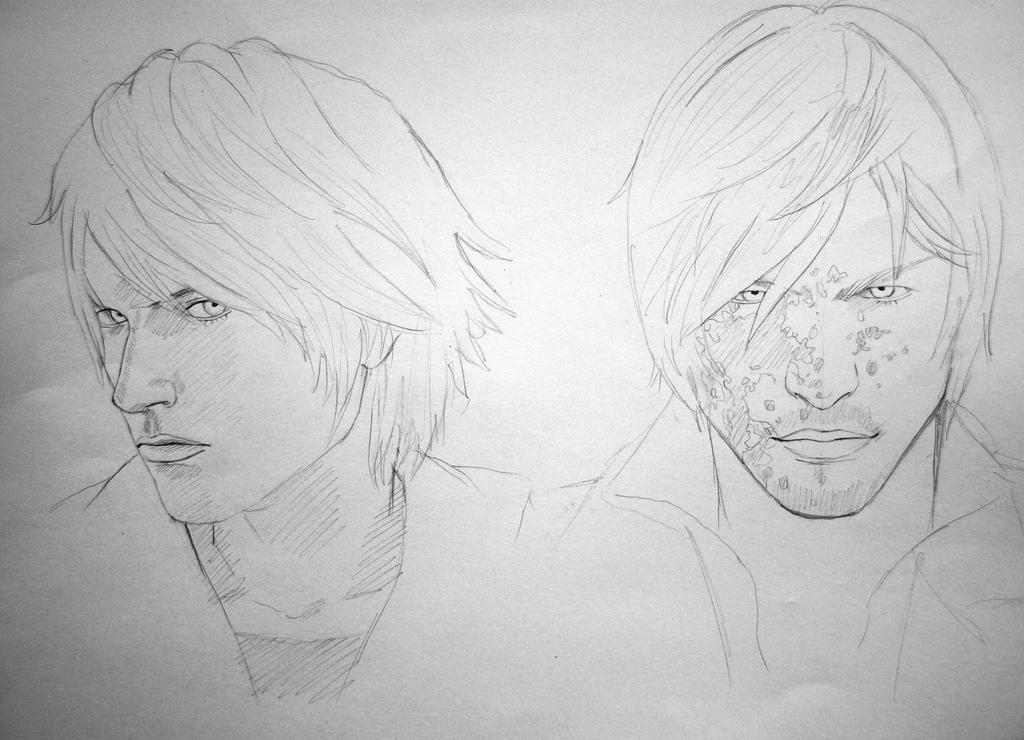 Nero Sketch Nero and Dante sketch ...