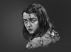 Arya Stark by Dewilish