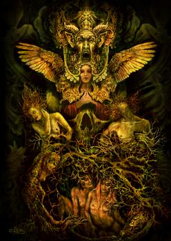 Religious Assimilation (Digital Painting)