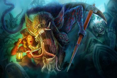 Ghost Invaders (Digital Painting)