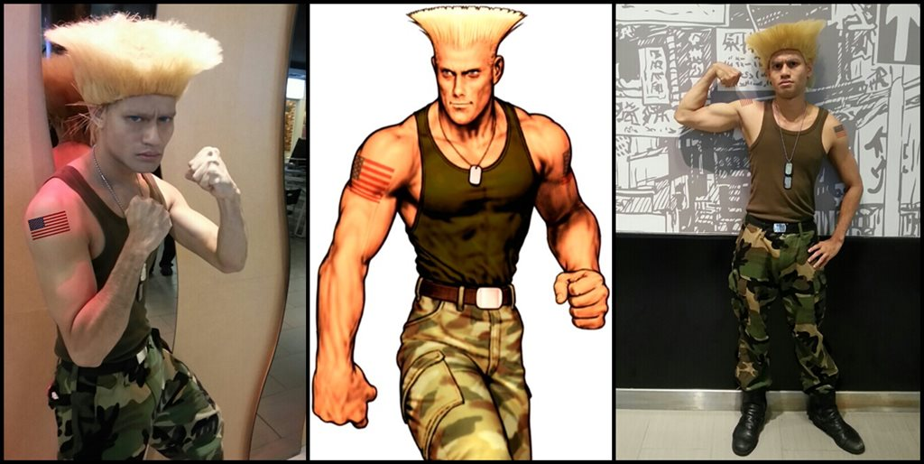 Remy street fighter cosplay
