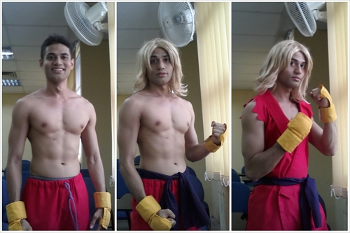 How to be Ken Masters. by riezforester