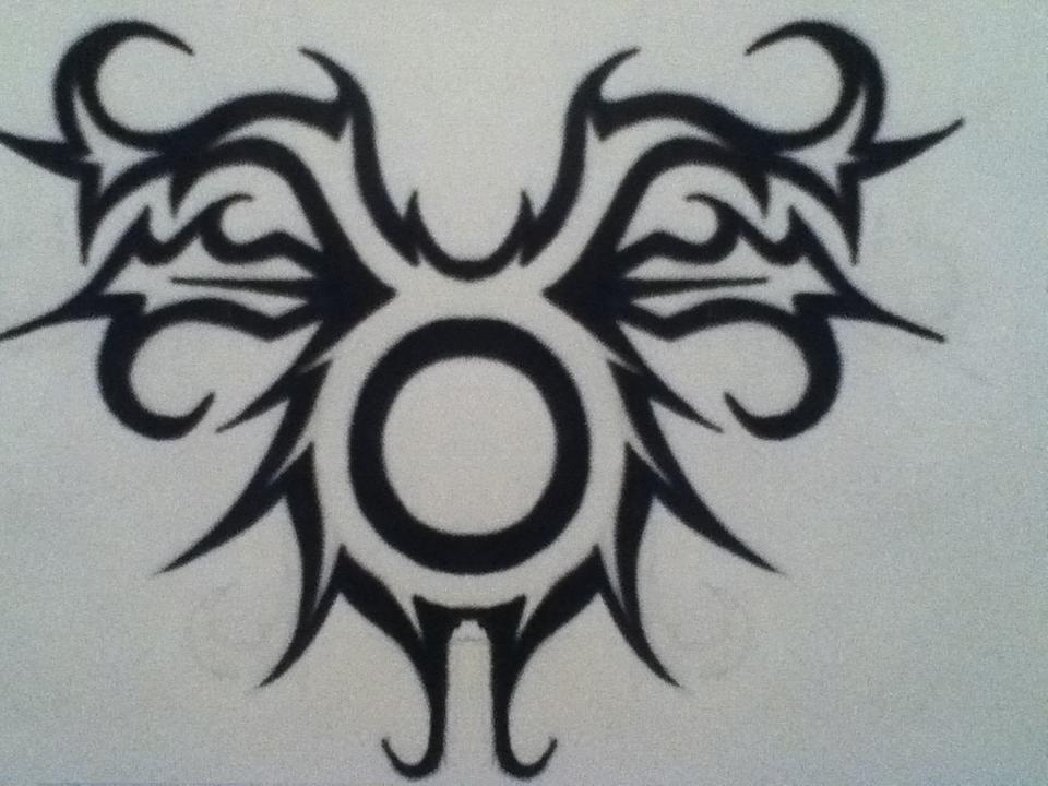 taurus tribal tattoo design by sheena1113 on deviantart