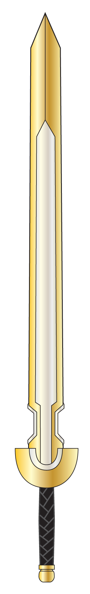 Gilded Sun Blade by GnarledContradiction