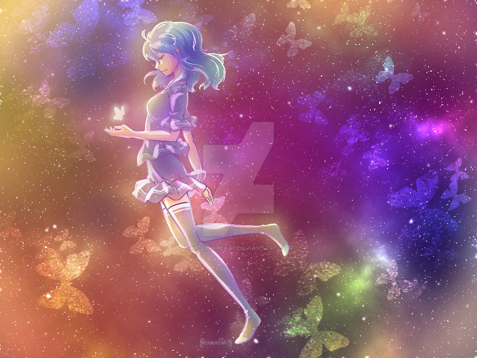 Redraw this! Galaxy Girl by KP-Lionheart