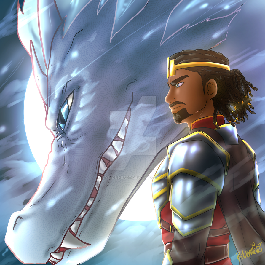 Future Kings - The Dragon Prince by KP-Lionheart