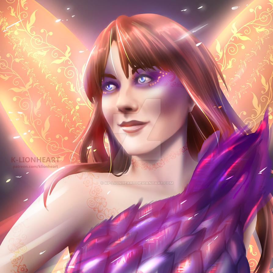 Commission for Smeeg - Fairy Portrait by KP-Lionheart