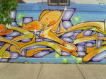 Chicago graffiti by killshame
