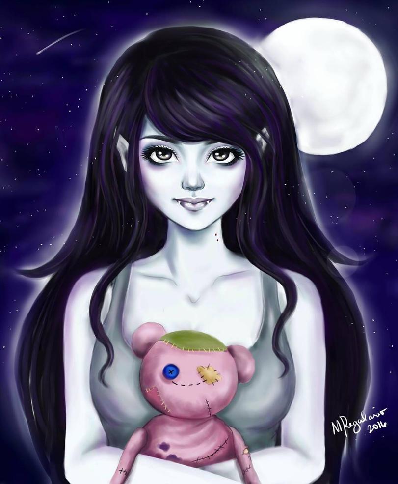 Marceline the Vampire Queen by MonicaRegalario