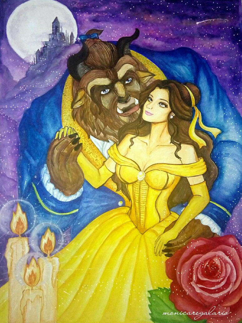 Beauty and the Beast  by MonicaRegalario