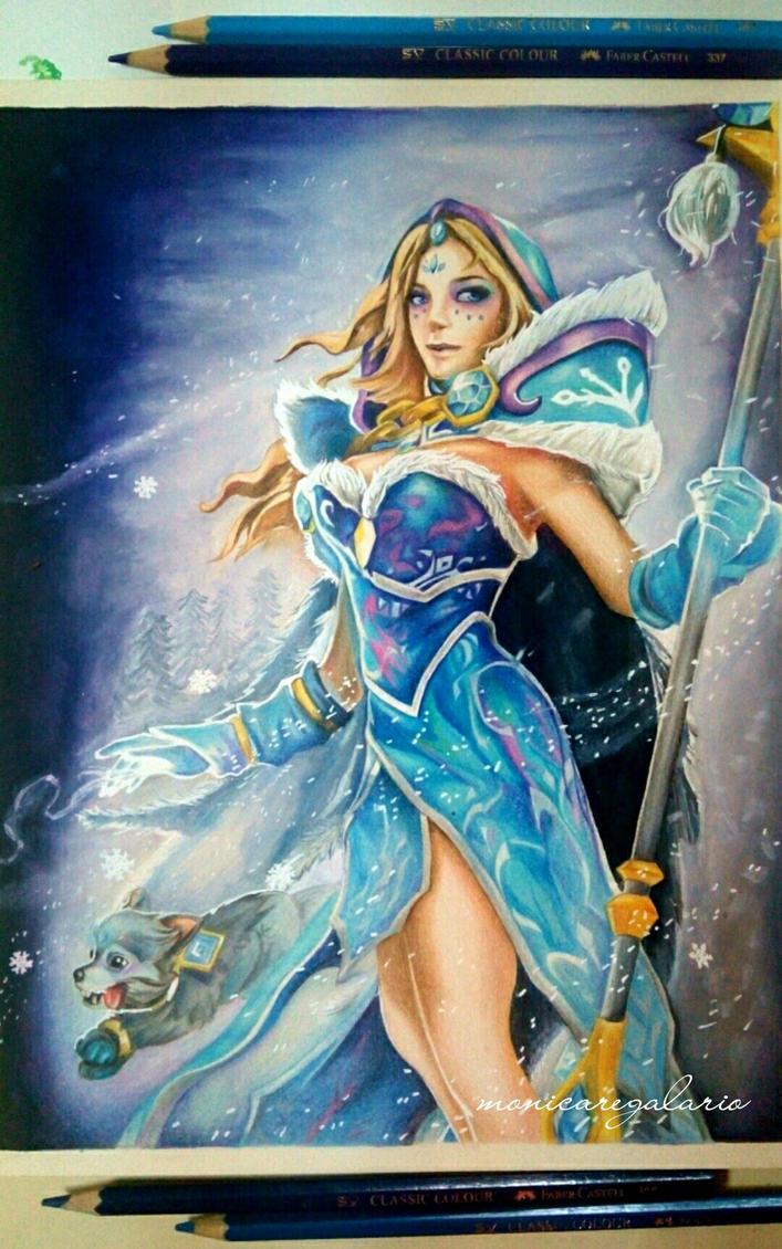Crystal Maiden by MonicaRegalario