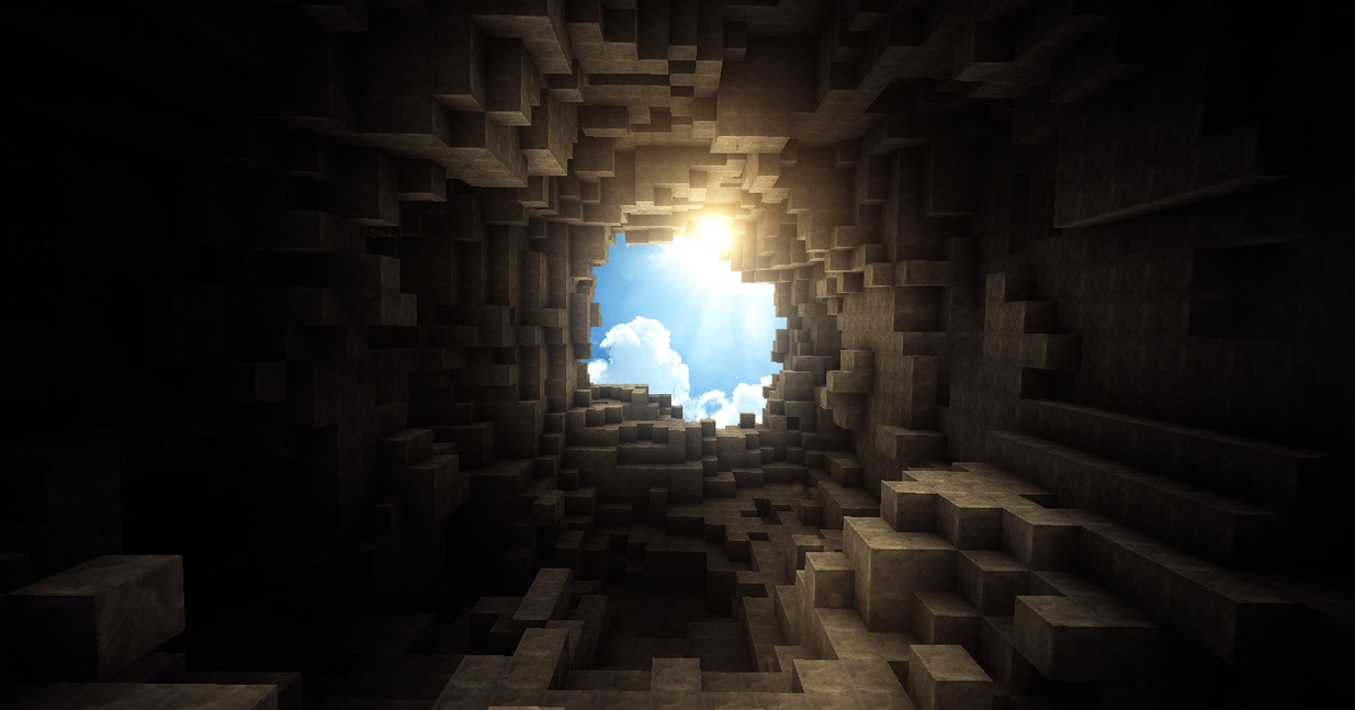 Popular Wallpaper Minecraft Scenery - beautiful_day_in_minecraft_by_theevollutions-d3kniwn  Trends_839138.png