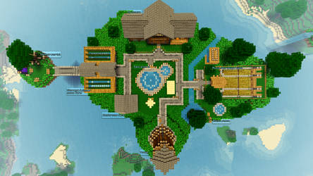 My Minecraft MP Home I by TheEvOlLuTiOnS