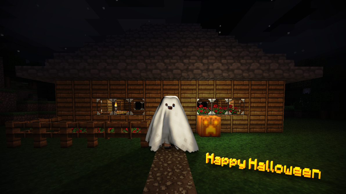 Minecraft Halloween by TheEvOlLuTiOnS