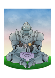 Alphonse Elric and Kittens because Kittens