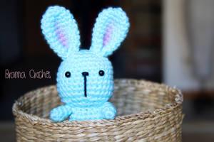 Bunny - Kawaii Amigurumi plush by BramaCrochet