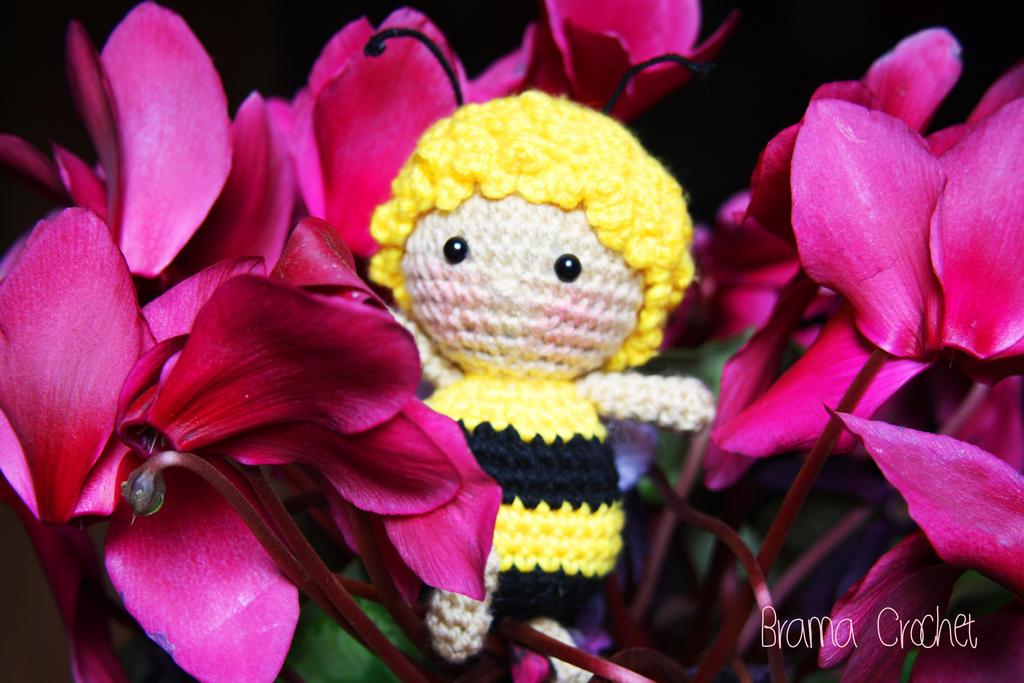 Maya the Bee Amigurumi crochet doll by BramaCrochet on ...