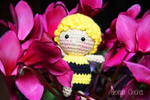Maya the Bee Amigurumi crochet doll by BramaCrochet