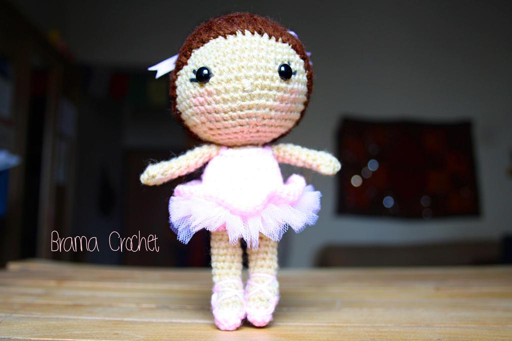 Deadpool Amigurumi Free Pattern : Ballerina Kawaii Amigurumi crochet doll by BramaCrochet on ...