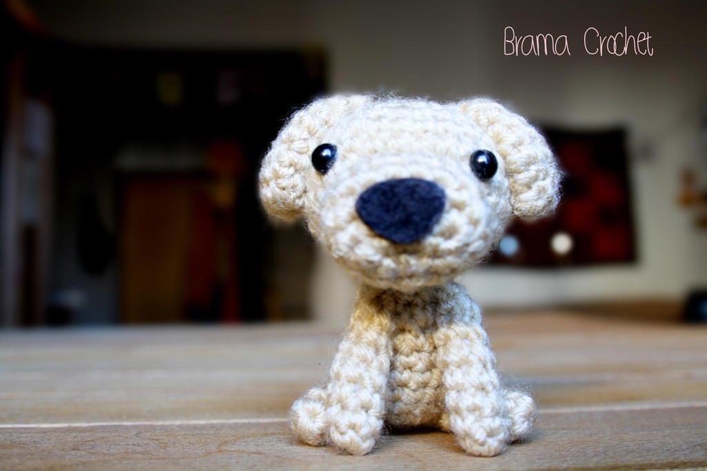 Schizzo! Kawaii Amigurumi dog plush by BramaCrochet on ...