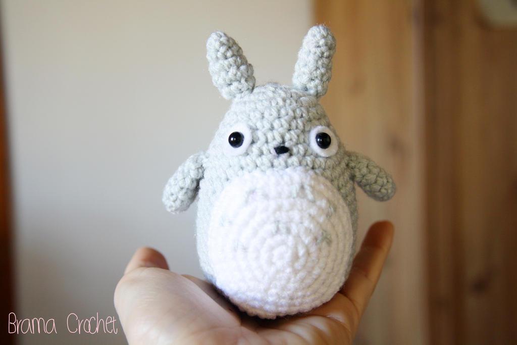 Amigurumi Totoro Anleitung : Little TOTORO Amigurumi crochet doll by BramaCrochet on ...