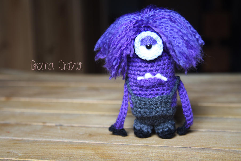 Amigurumi Minion Girl : Purple Minion Related Keywords & Suggestions - Purple ...