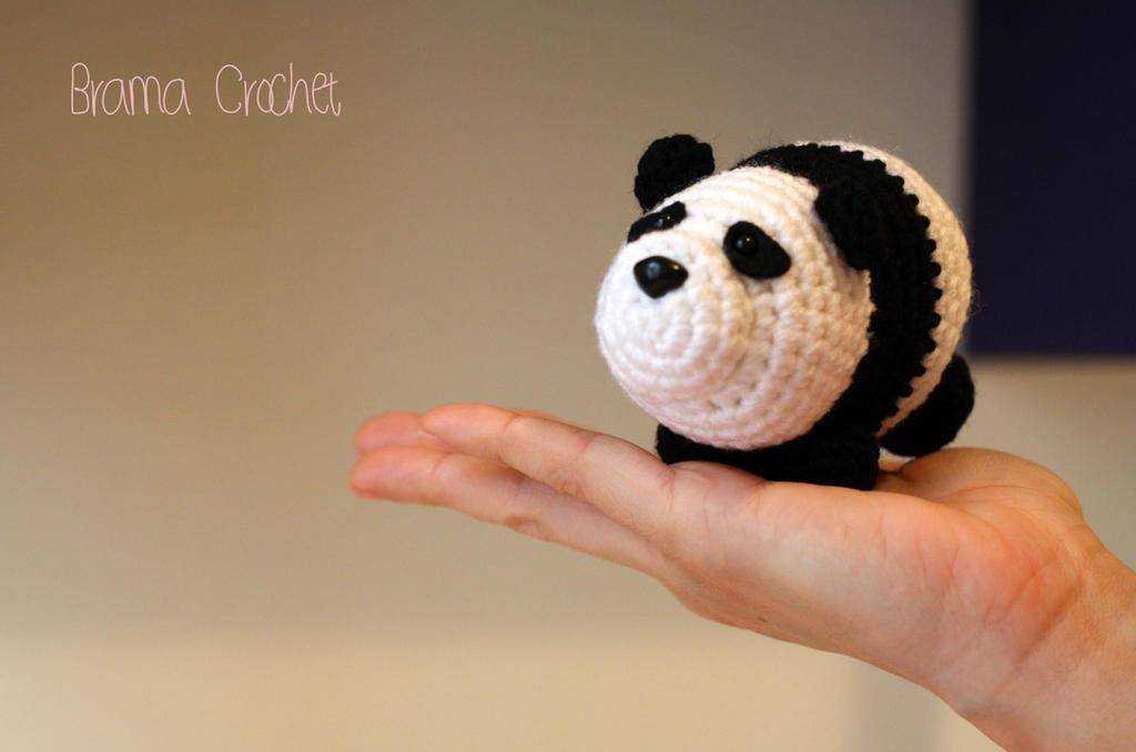 PANDA Kawaii crochet amigurumi doll plush by BramaCrochet ...