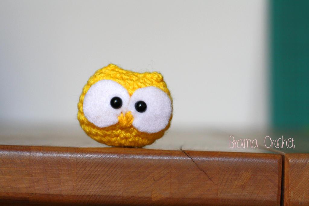 Little Owl - Kawaii Amigurumi plush by BramaCrochet on ...