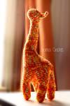 Giraffe Amigurumi crochet doll plush