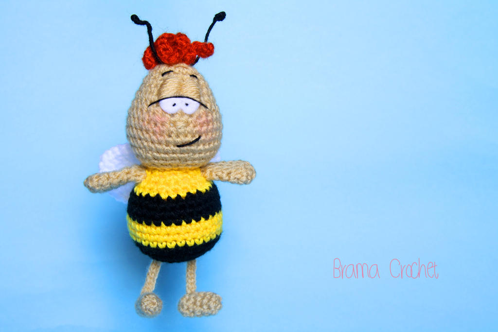 Amigurumi Basic Doll Pattern : Willi the Bee Amigurumi crochet doll by BramaCrochet on ...