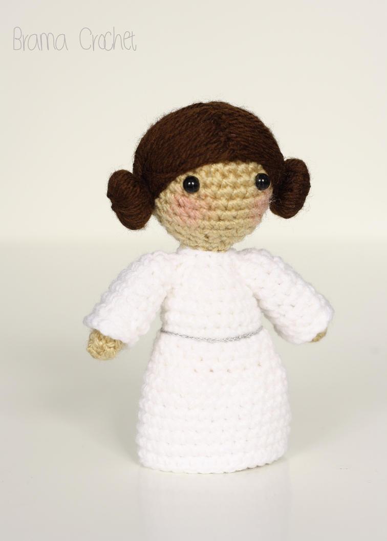 Princess Leia - Star Wars Amigurumi doll by BramaCrochet ...
