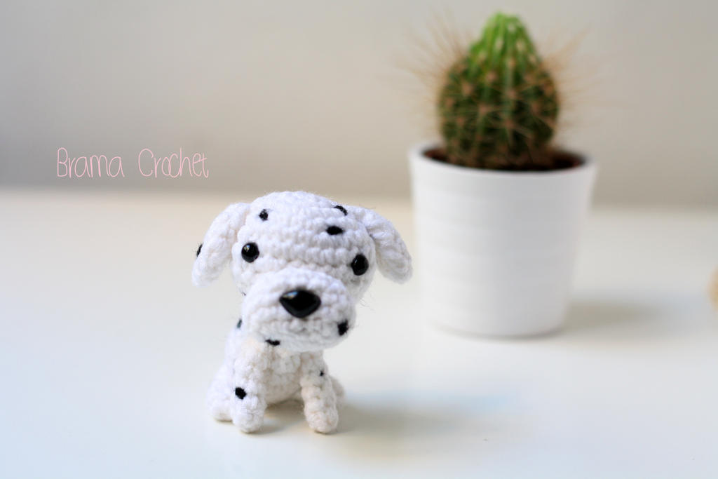 Dalmata Kawaii Amigurumi dog plush by BramaCrochet on ...