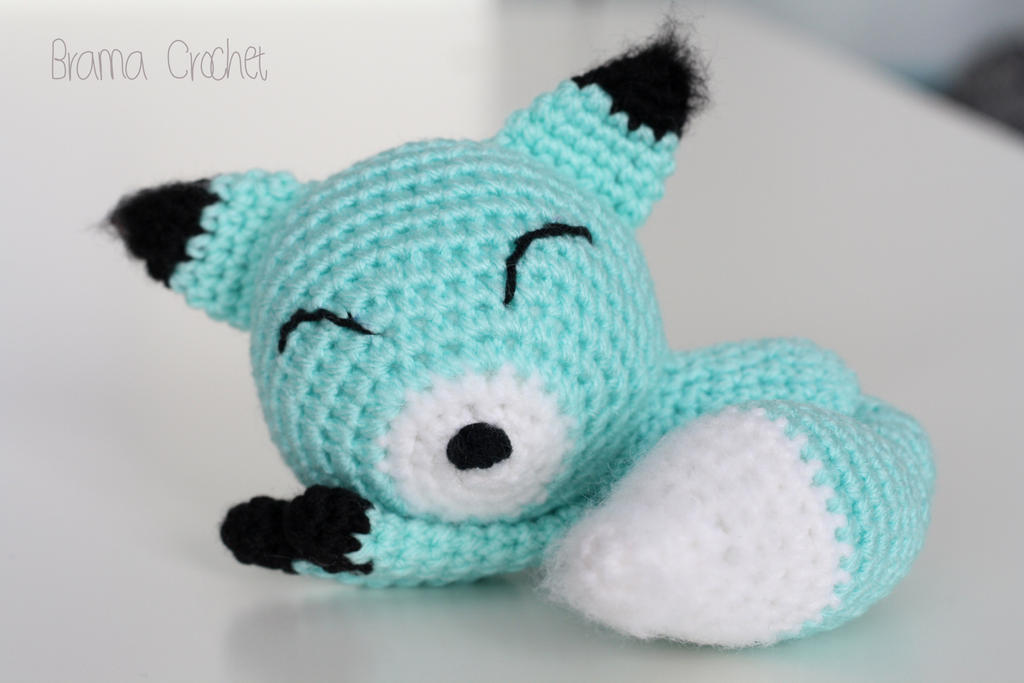 Little Fox Amigurumi : Little Fox crochet amigurumi doll plush by BramaCrochet on ...