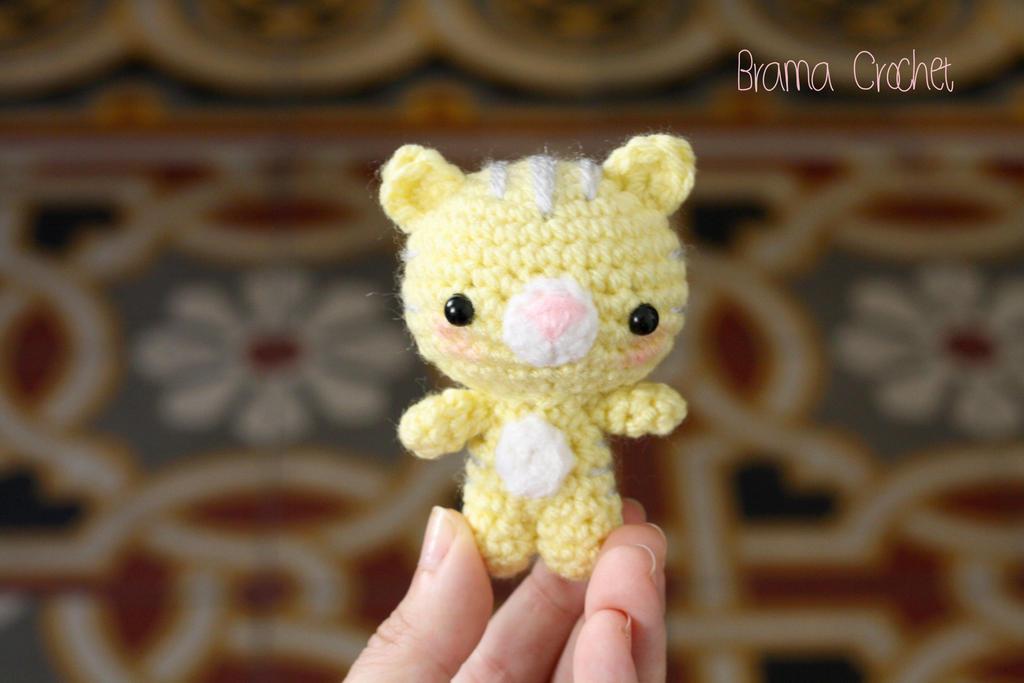 Kitten amigurumi doll :) by BramaCrochet
