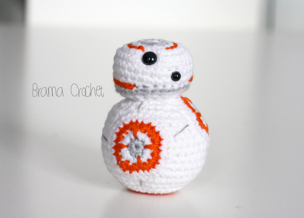 BB-8 . Star Wars by BramaCrochet