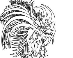 Determination Dragon (No color)