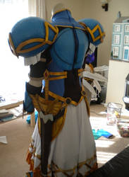 Lenneth Valkyrie Cosplay Finished - Back