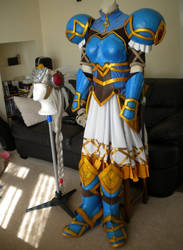 Lenneth Valkyrie Cosplay Finished - Front