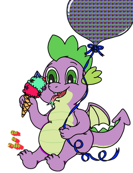 A Dragon and His Ice Cream