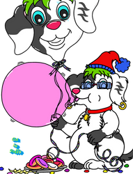 Party Pup Puffy