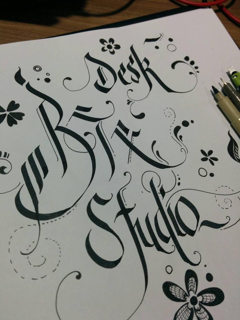 Desk BTx Studio by birdizz
