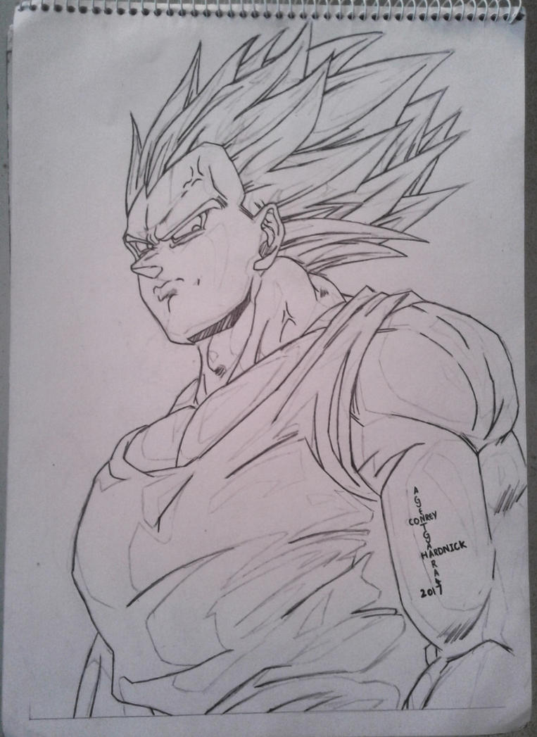 Super Vegeta by AgentGaara47